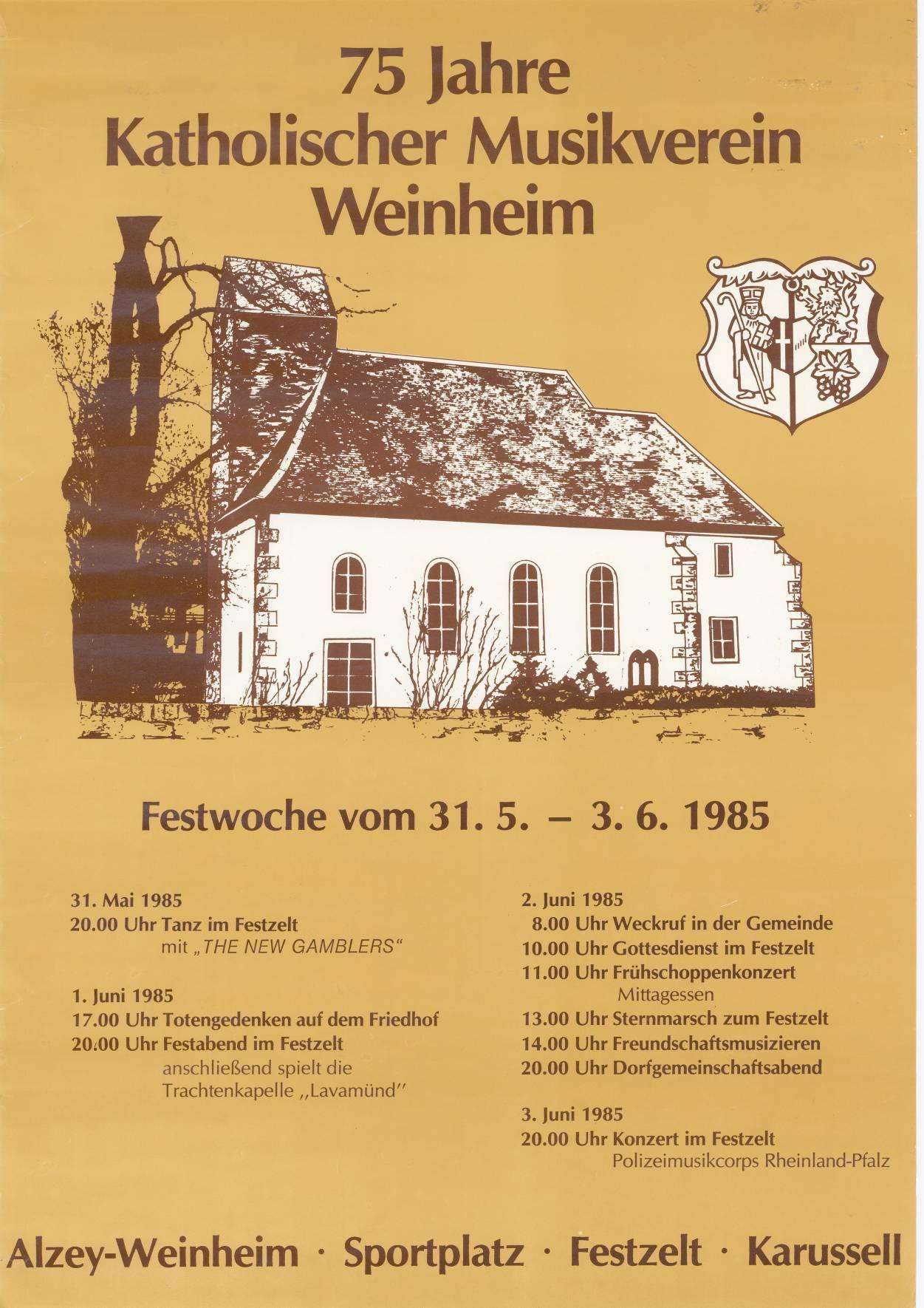 75 Jahre KMV Weinheim